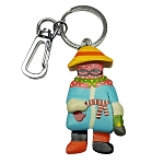 Wooden Mummer with Hat Key Chain - 5