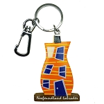 Wooden Rowhouse Key Chain - 5