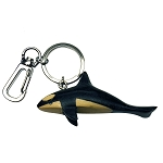 Wooden Orca - Key Chain -  4.5