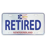 License Plate - Retired - Newfoundland