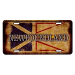 Licence Plate - Rustic Newfoundland