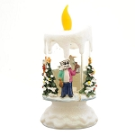 Light Up Mummer Candle - Republic Mummer and Friends - LED Color changing - A Newfoundland Christmas - 7.5