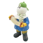 Musical Mummer Figurine with Accordion- Featuring the Mummer's Song by Simani -  5.5