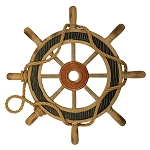 Wooden Ship Wheel - 16