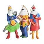 The Mummers Parade - Ornament - 3 pc set