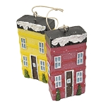 Ornament - Row Houses - Red and Yellow - 3