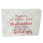Wooden Sign - There's no Place like Newfoundland for the Holidays - 7