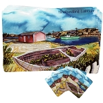 Newfoundland / Labrador - Vinyl Place Mats with matching Coasters