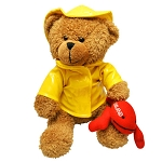 Plush - Sou'Wester Bear with Lobster - 9