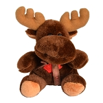 Plush Moose with Canadian Maple Leaf -  in Box - 5