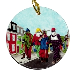 Bobbi Pike - Party On Prescott -  Ornament