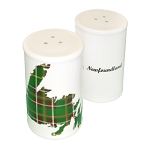 Salt and Pepper Shakers - Newfoundland Map Tartan - 3