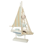 Wooden Sail Boat - 9.5