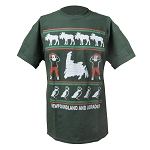 Newfoundland Ugly Christmas  - T shirt