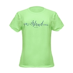 Ladies  - T Shirt -  Island - Newfoundland - Light Green