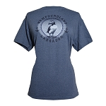 T Shirt - Newfoundland Labrador - Puffin - Denim