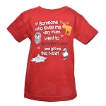 Kids - T Shirt - Someone Who Love Me Very Much went to Newfoundland and Labrador - Dark Red
