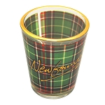 Shot Glass - Tartan - Newfoundland