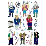 Newfoundland Mummers Window Clings