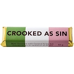 Chocolate Bar - Newfoundland Sayings - Crooked as Sin -50g