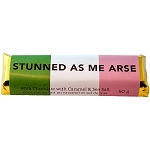 Chocolate Bar - Newfoundland  Sayings - Stunned as me Arse - 50g