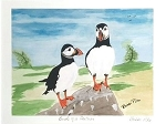 Matted Print - Bobbi Pike - 8 x 10 - Birds of a Feather