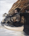 P. M. Greemslade - Lone Dory - Unmatted Print 8 x 10