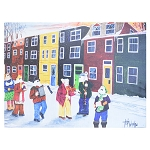 Canvas Print - Mummers Parade  - Plays the Mummers Song - 16