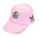 Kids - My First Newfoundland Cap - Pink - Elastic at back