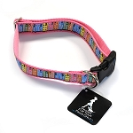 Dog Collar - Rowhouse - Pink