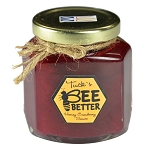 Tuck's Bee Better - Cranberry Sauce  with Honey - Newfoundland Produced -  190ml