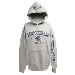 Hoodie - Newfoundland and Labrador est. 1497 - Grey