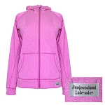 Ladies Jacket - Hooded Competition - Newfoundland  & Labrador - Plum