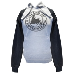Hoodie - Adult -  Island of Newfoundland - Grey & Black