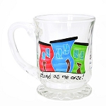 Beer Stein - Hand Painted - Jelly Bean Row - Stunned as me Arse