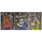 Wooden - Light -up Mummers Ornament - Any Mummers Lowed In - 18