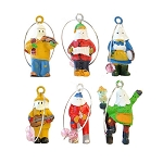 Wine Charms - Mummers - 6 Pk
