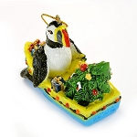 Ornament - Puffin in Dory - 2 1/2