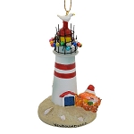 Ornament - Crab w Lighthouse - 4