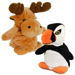 Plush - Peek-a-Boo Moose & Puffin