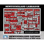 Puzzle -  Newfoundland Sayings - 500 Piece