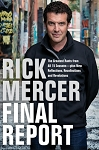 Final Report - Rick Mercer - Hard Cover