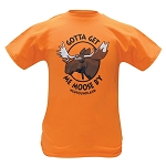 Mens  - Gotta Get Me Moose B'y - Newfoundland - Orange