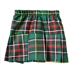 Children's  Pleated Kilt  with elastic waist - Newfoundland Tartan