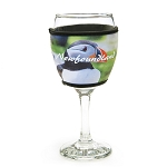 Insulated Wine Glass Cover - Puffin