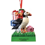 Ornament - Newfoundland  & Labrador - Puffin with Gifts - 2 1/2
