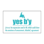 Magnet - Downhome Newfoundland  Sayings - yes b'y
