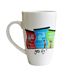 Hand Painted - Mug - Jelly Bean Row - Yes B'y !