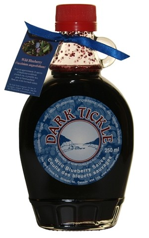 Dark Tickle - Wild Blueberry Sauce - 250 ml