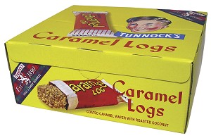 Tunnock's Caramel Log Bars (48 per Box)